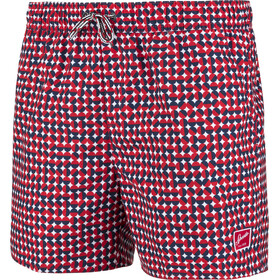 "speedo Vintage Printed 14"" Watershorts Herren red/navy"
